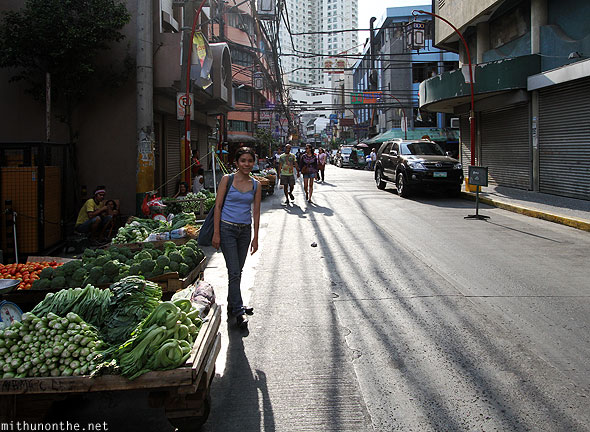 Aimee Marie Chinatown vegetable market Manila Philippines