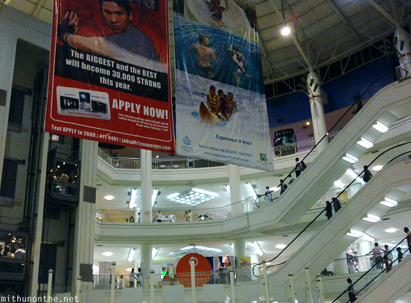 Ayala Mall Convergys call center hiring banners