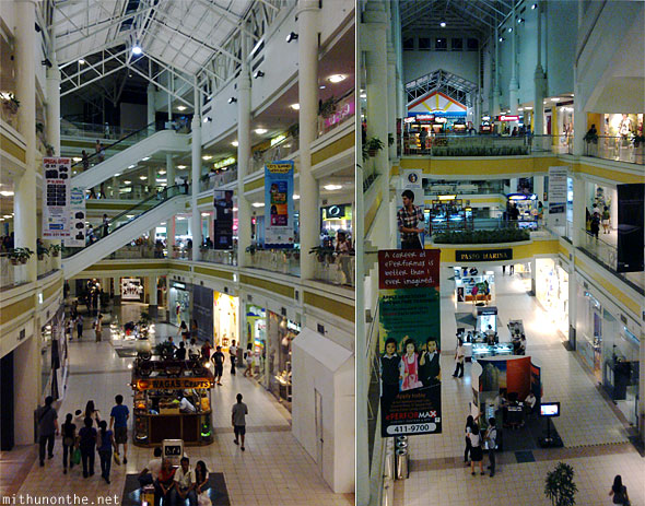 Ayala mall interiors shops Cebu Philippines