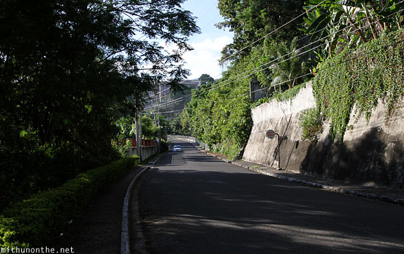 Beverly Hills road to Taoist temple Cebu