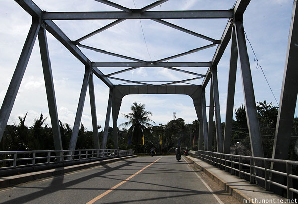 Bohol highway bridge Philippines