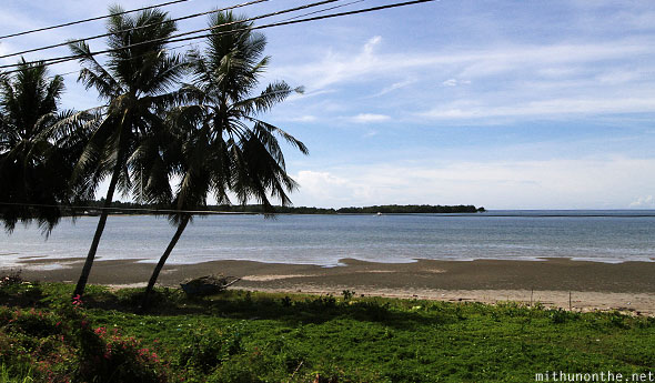 Bohol highway sea view Philippines