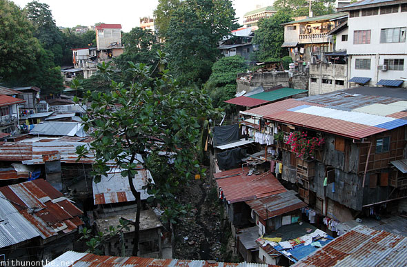 Cebu Beverly hills slum shanty homes Philippines
