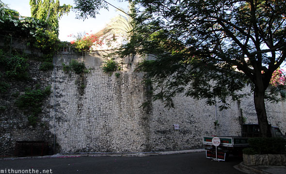 Cebu Beverly hills stone wall