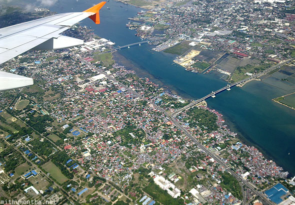 Cebu city aerial photography Philippines