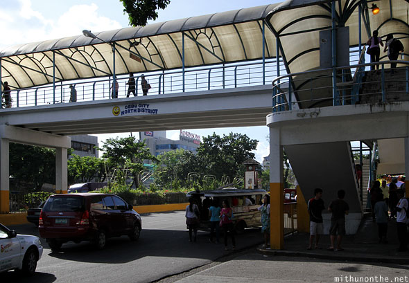 Cebu city North district pedestrian overbridge
