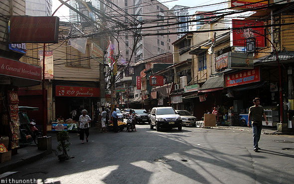 Chinatown Manila afternoon Philippines