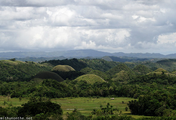 Chocolate Hills Bohol other side