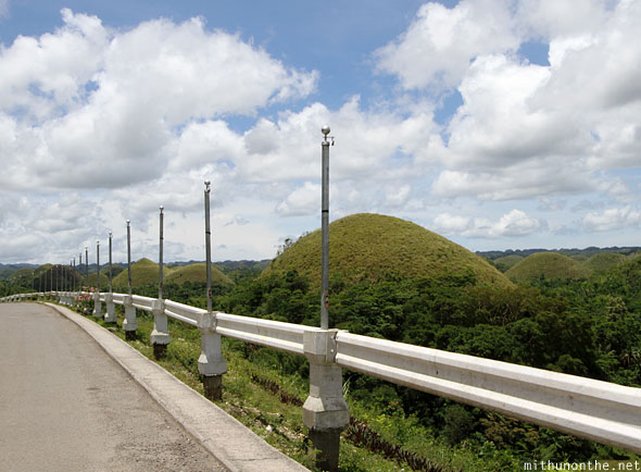 Chocolate Hills leaving Bohol