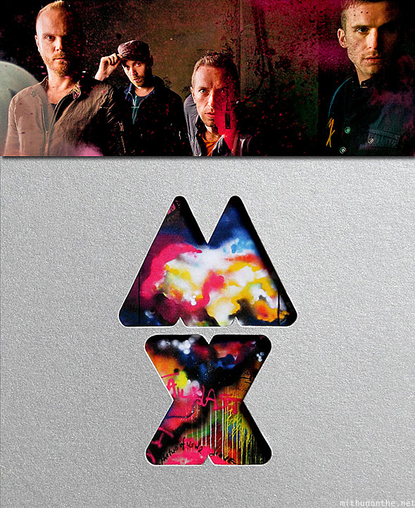 Coldplay Mylo Xyloto album art new