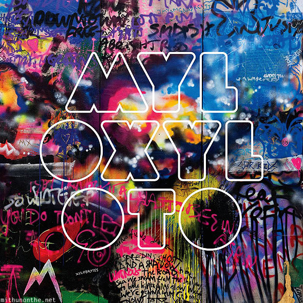 Coldplay Mylo Xyloto album cover new