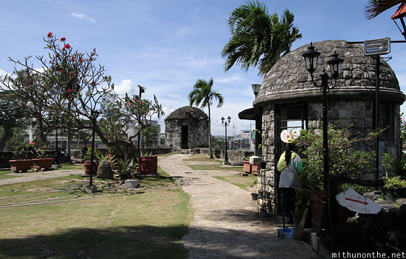 Fort San Pedro domes Cebu