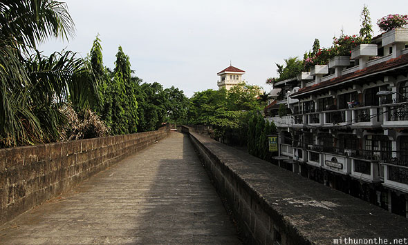 Intramuros wall walk Manila