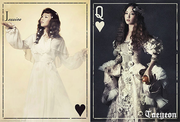 Jessica Taeyeon The Boys concept art teaser cards