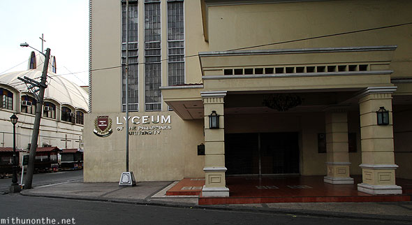 Lyceum Philippines University Intramuros Manila