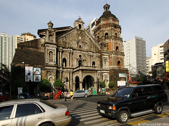 Binondo church Chinatown Manila Philippines
