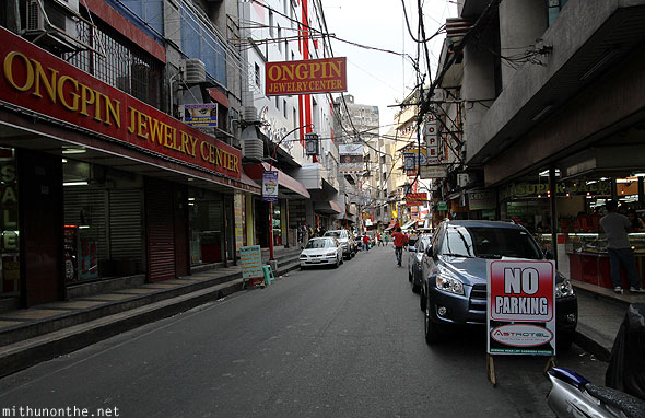 Ongpin jewelry center Chinatown Manila