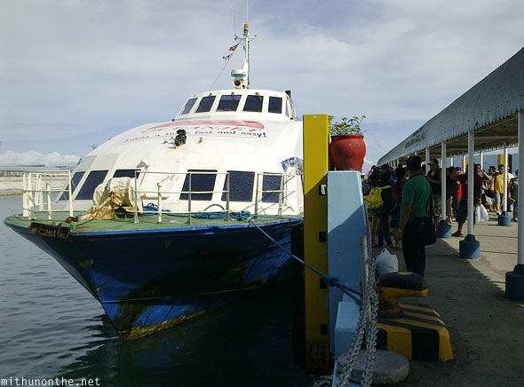 Port of Tagbilaran Bohol Oceanjet ferry Philippines