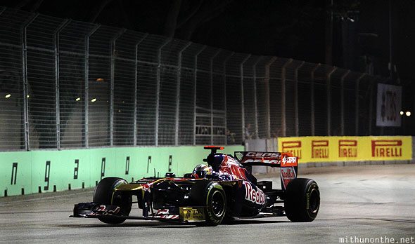 Red Bull Racing Singapore grand prix F1 race day