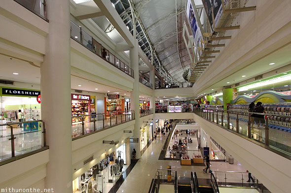 Robinson Place mall stores Manila Philippines