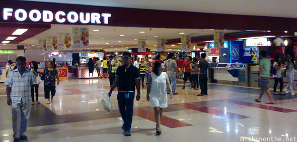 SM city Cebu mall foodcourt