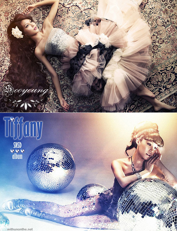 Sooyoung Tiffany The Boys concept art teaser new album