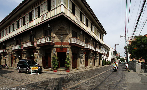 Tamayo's catering building Intramuros Manila Philippines