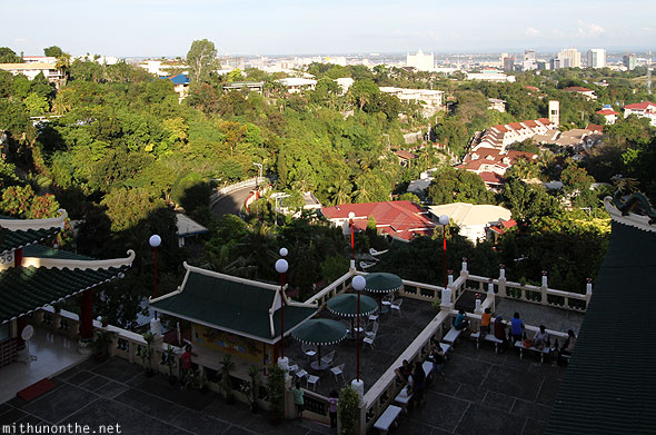 View from Philippine Taoist temple Cebu