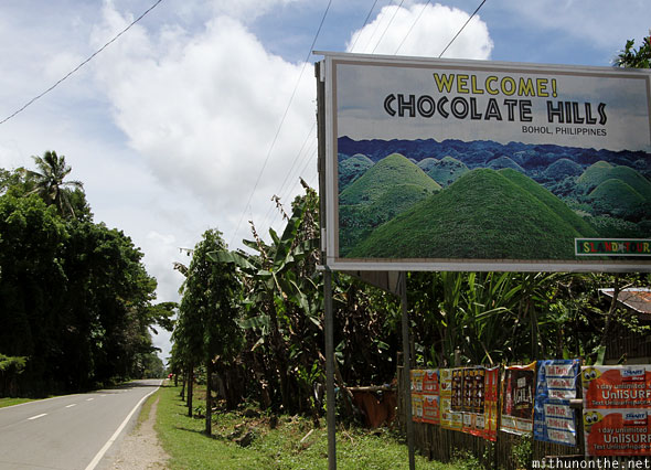 Welcome to Chocolate Hills Bohol Philippines