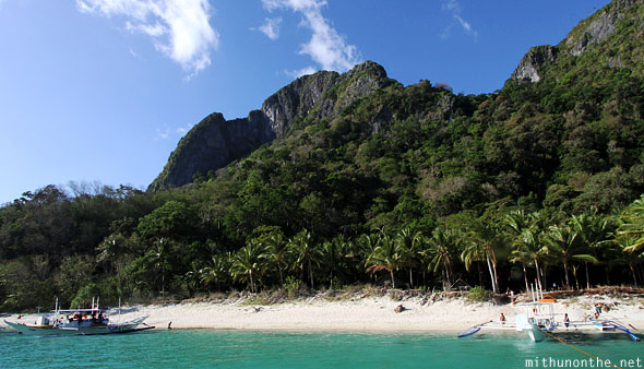 7 Commandos beach El Nido Palawan Philippines