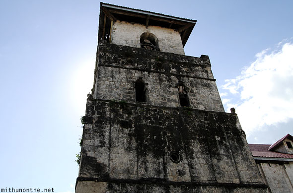 Baclayon roman catholic church bell tower Bohol