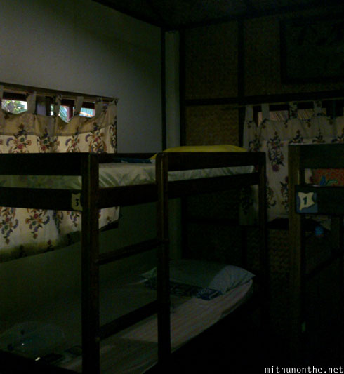 Banwa Arthouse dorm bunk bed Puerto Princesa Palawan