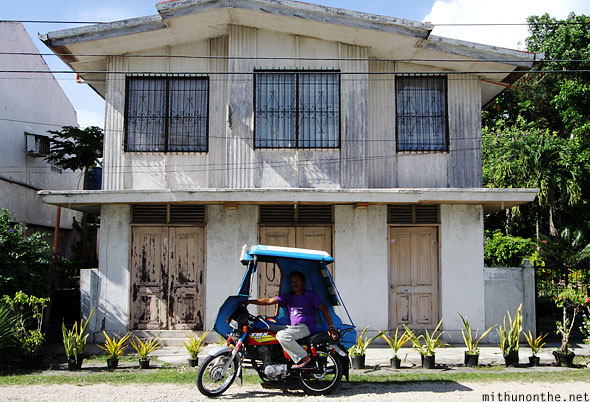 Bohol house tricycle tour driver Philippines