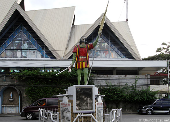 Bohol Knights of Columbus statue