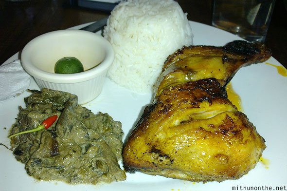 Chicken inasal Palawan restaurant Philippines