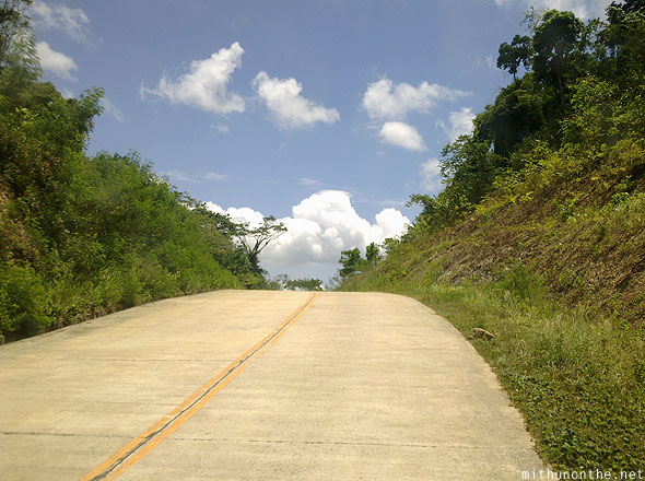 Concrete roads Palawan Philippines