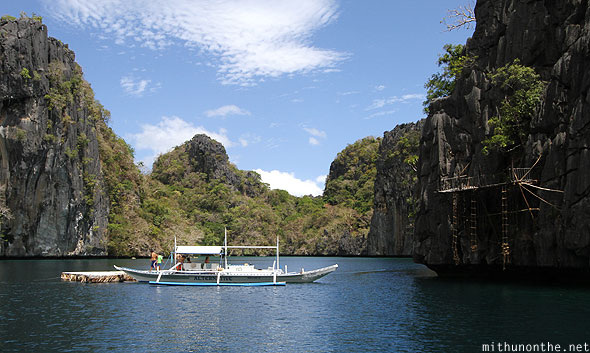 El Nido big lagoon Miniloc island Survivor set Philippines