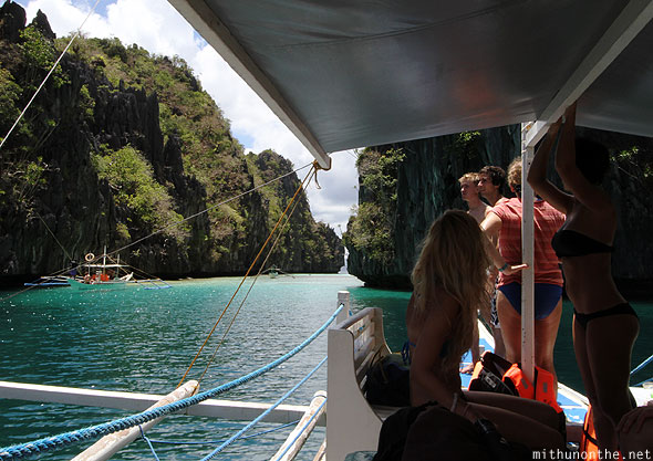 El Nido boat tour group Palawan Philippines