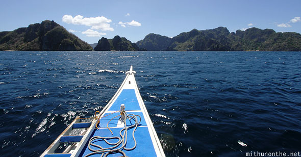 El Nido boat tour islands Palawan Philippines