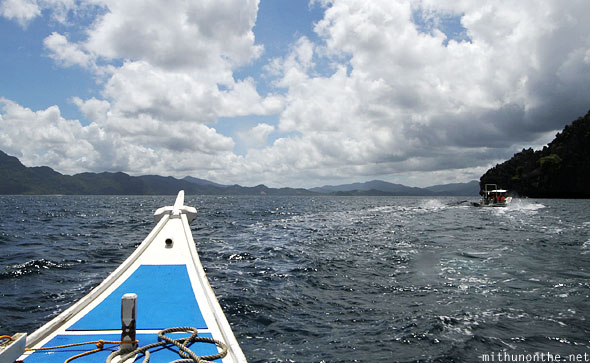 El Nido boat tour South China sea Palawan