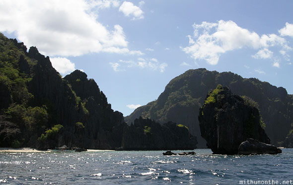 El Nido islands limestone Palawan Philippines