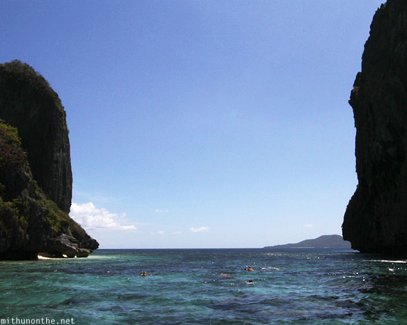 El Nido open sea Palawan Philippines