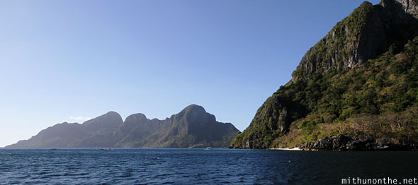 El Nido South China sea Palawan Philippines