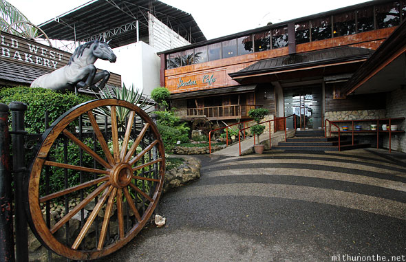 Garden Cafe Wild West themed Bohol Philippines