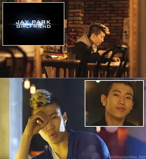Jay Park Girlfriend MV screencaps Jaebom