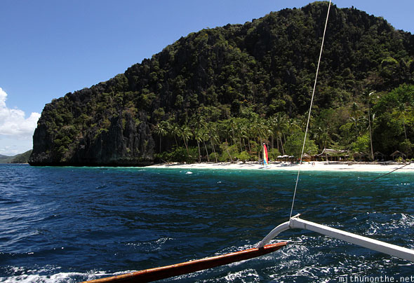 Leaving entalula island El Nido Palawan Philippines