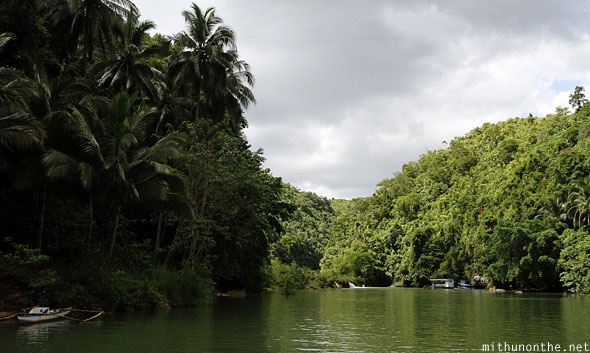 Loboc river afternoon cruise Bohol Philippines