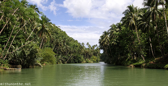 Loboc river cruise afternoon Bohol Philippines
