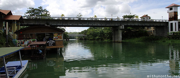 Loboc river cruise bridge Bohol Philippines