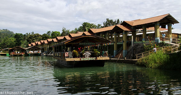 Loboc river cruise station Bohol Philippines